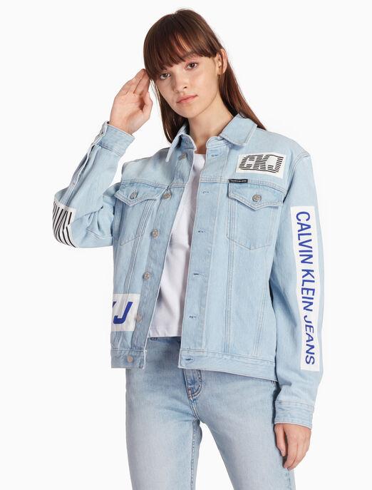 CALVIN KLEIN 파운데이션 트럭커 재킷