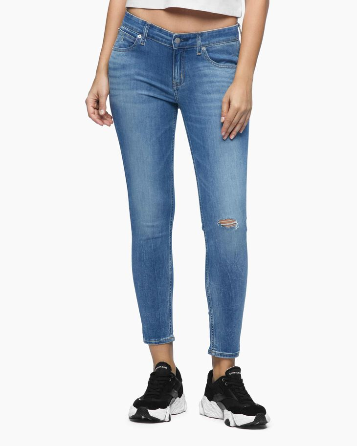 CALVIN KLEIN 37.5 CKJ 022 POWER STRETCH BODY ANKLE JEANS
