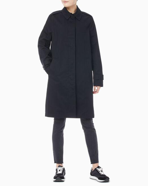 CALVIN KLEIN 여성 카 코트