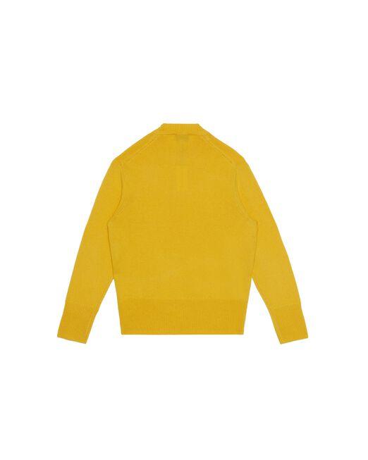 CALVIN KLEIN 인타르시아 로고 울 풀오버 스웨터
