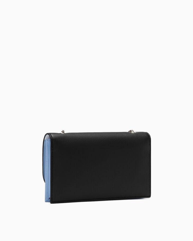 CALVIN KLEIN SCULPTED LOCK WALLET WITH CHAIN
