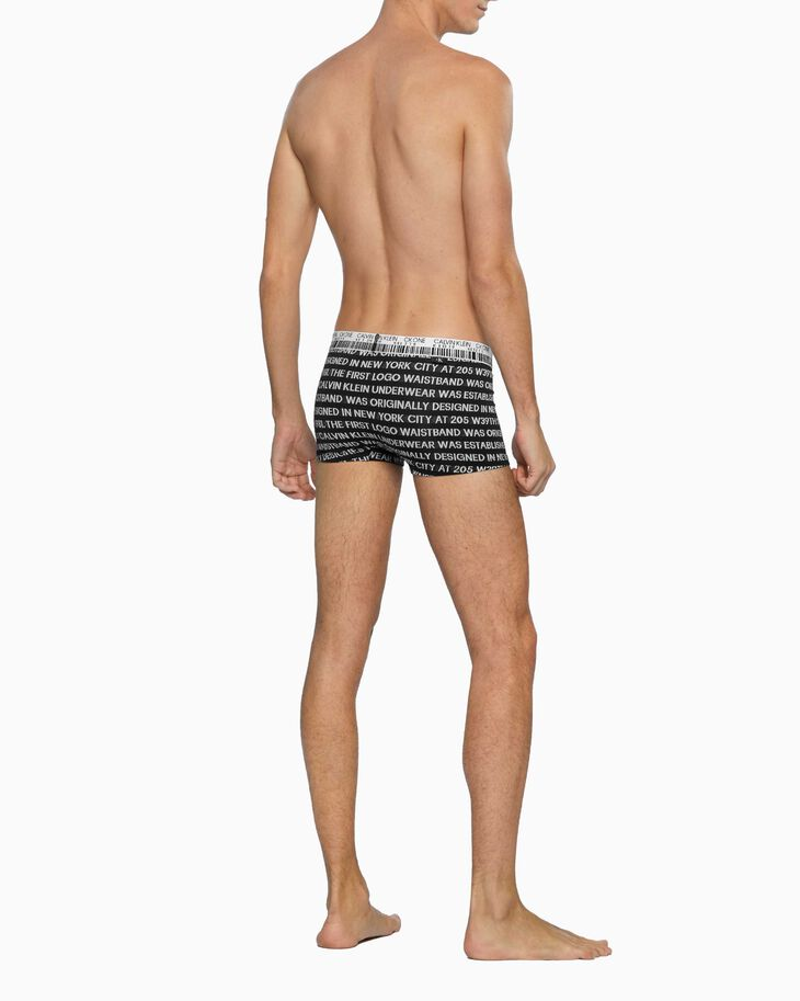 CALVIN KLEIN CK ONE JACQUARD LOW RISE TRUNKS