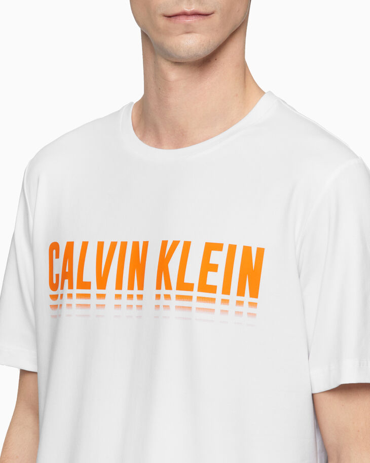 CALVIN KLEIN STATEMENT ESSENTIALS LOGO 上衣