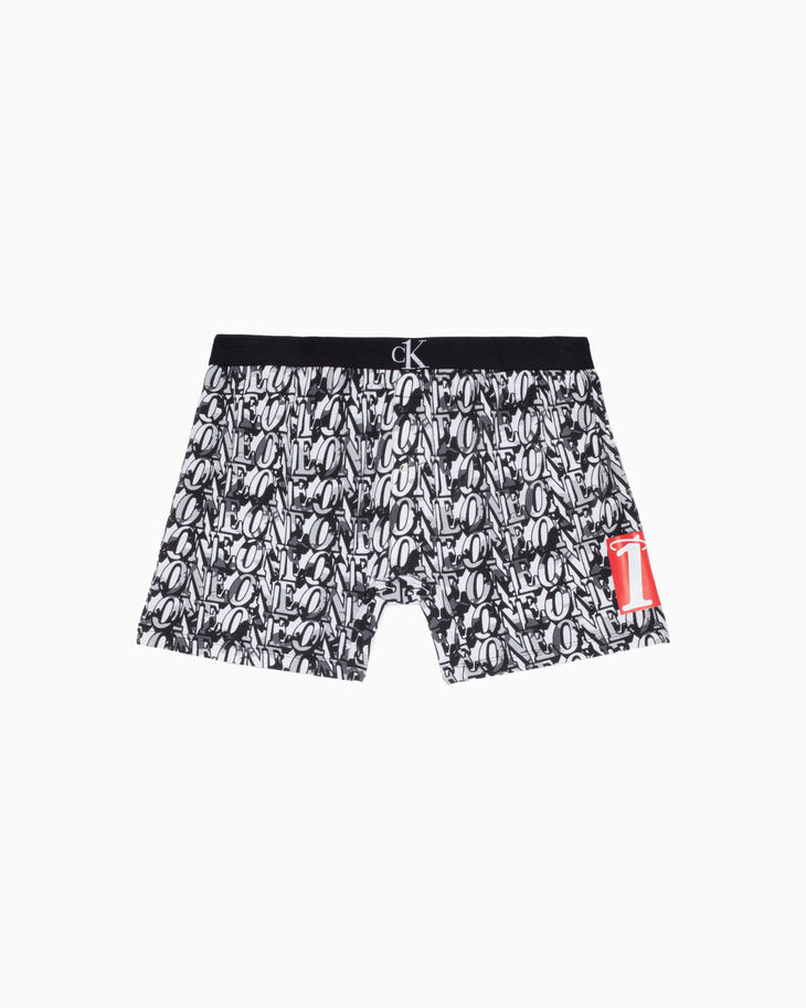 CALVIN KLEIN CK ONE PRINT MICROFIBER LOW RISE TRUNKS