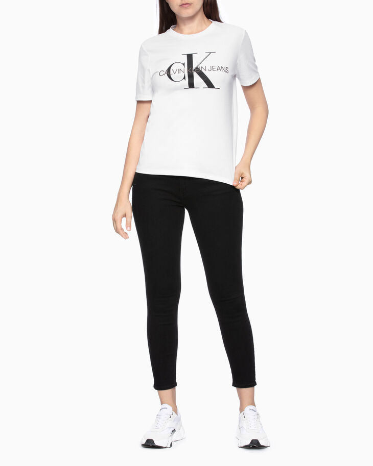 CALVIN KLEIN EMBROIDERED MONOGRAM LOGO 上衣
