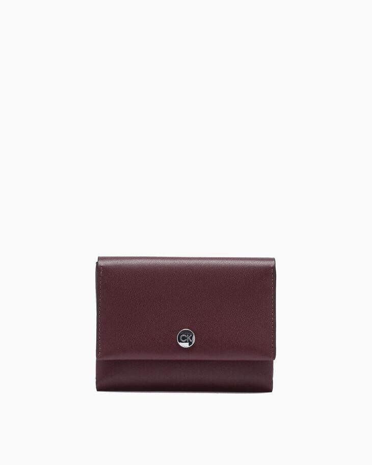 CALVIN KLEIN ORIGAMI COMPACT WALLET WITH CARD CASE