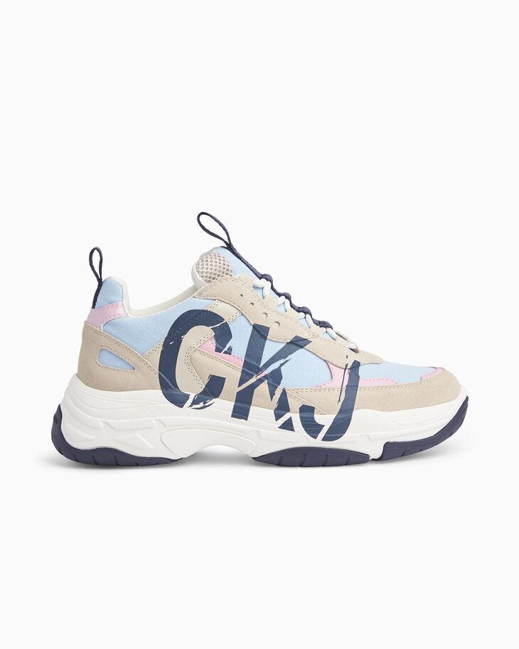 CALVIN KLEIN CKJ 厚底運動鞋