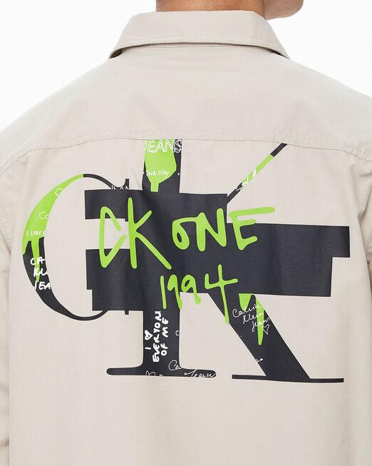 CALVIN KLEIN 남녀공용 CK1 셔츠재킷