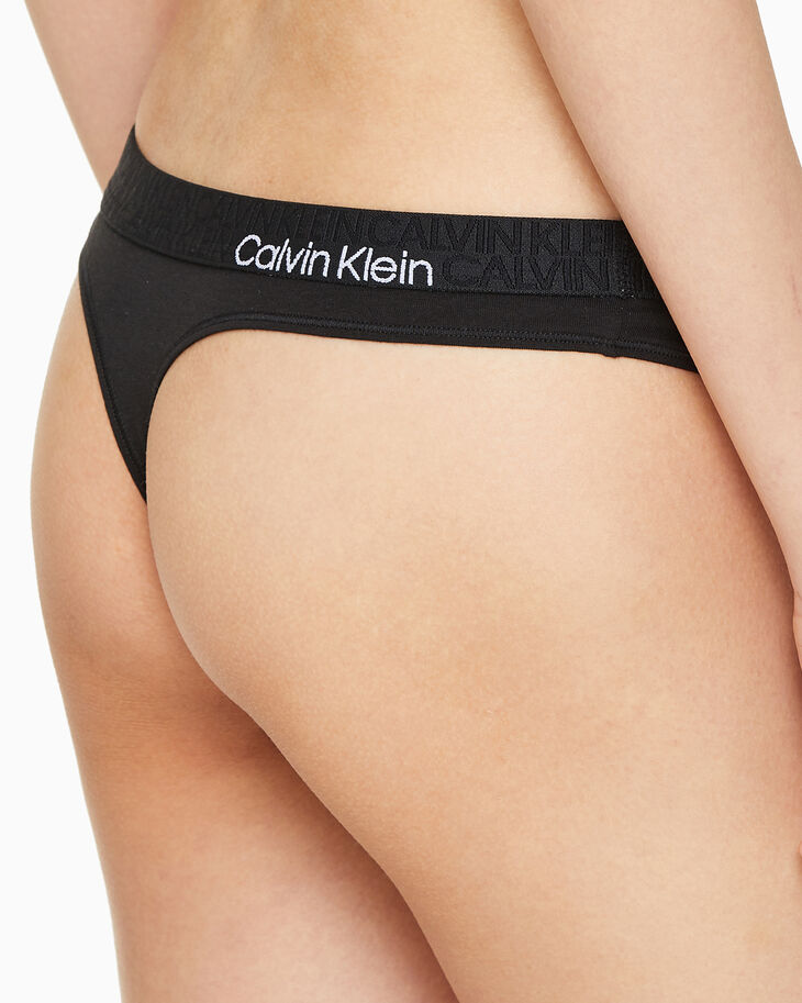 CALVIN KLEIN ECO COTTON THONG
