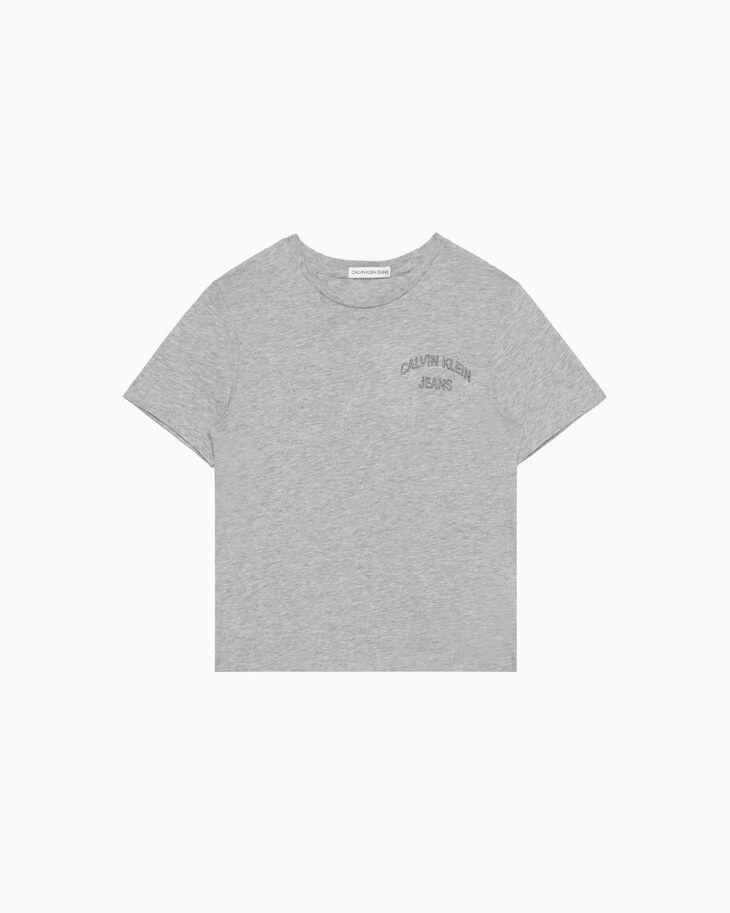 CALVIN KLEIN BOY'S OUTLINE LOGO T シャツ