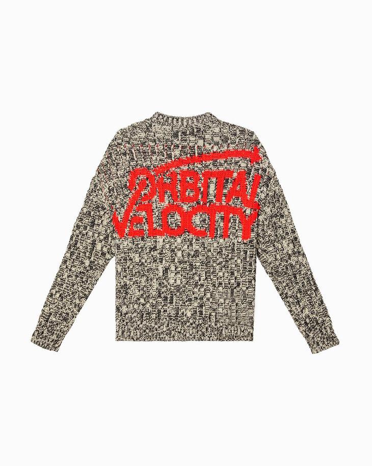 CALVIN KLEIN GRAPHIC BACK PRINT 毛衣