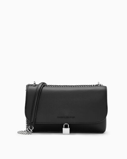 CALVIN KLEIN SCULPTED LOCK CROSSBODY BAG