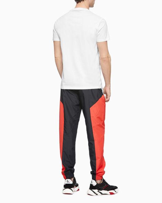 CALVIN KLEIN 남성 씨케이 에센셜 슬림핏 반팔 티셔츠