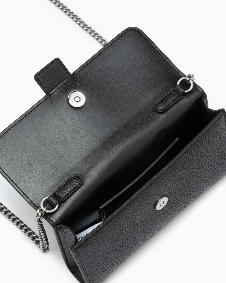 CALVIN KLEIN MONOGRAM HARDWARE PHONE CROSSBODY BAG