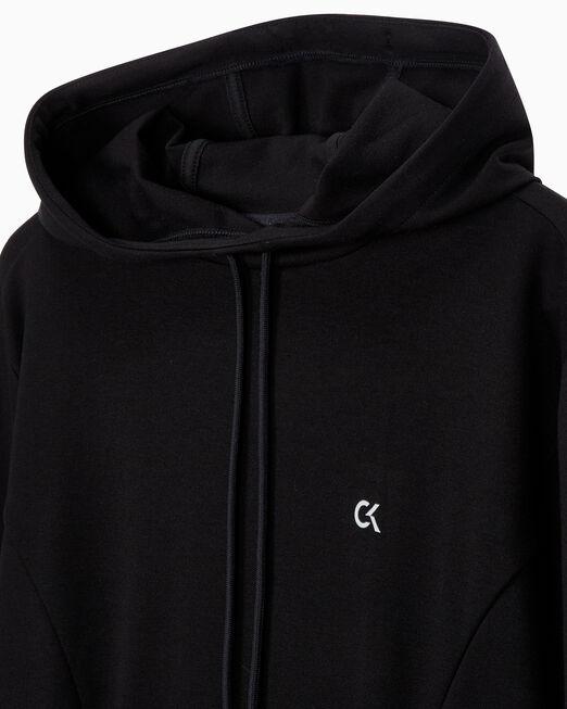 CALVIN KLEIN 여성 액티브 아이콘 엘라스틱 후디 드레스