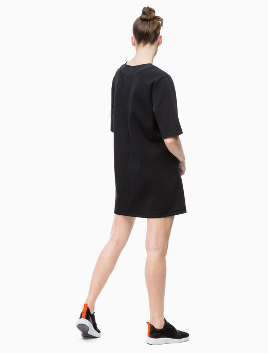CALVIN KLEIN TECH 스웨트 드레스