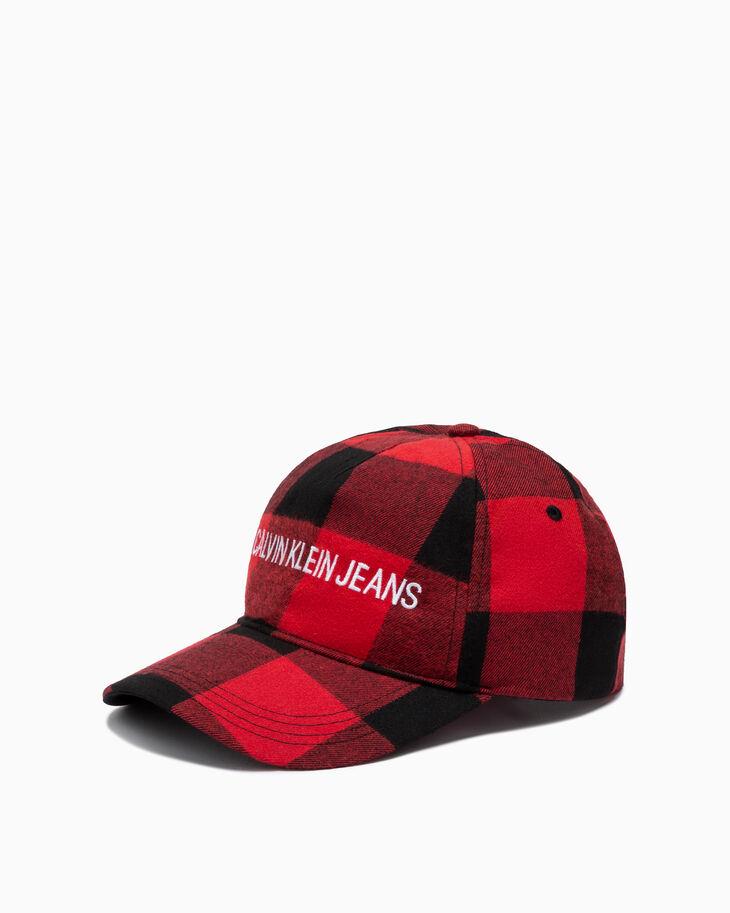 CALVIN KLEIN BUFFALO CHECK 棒球帽