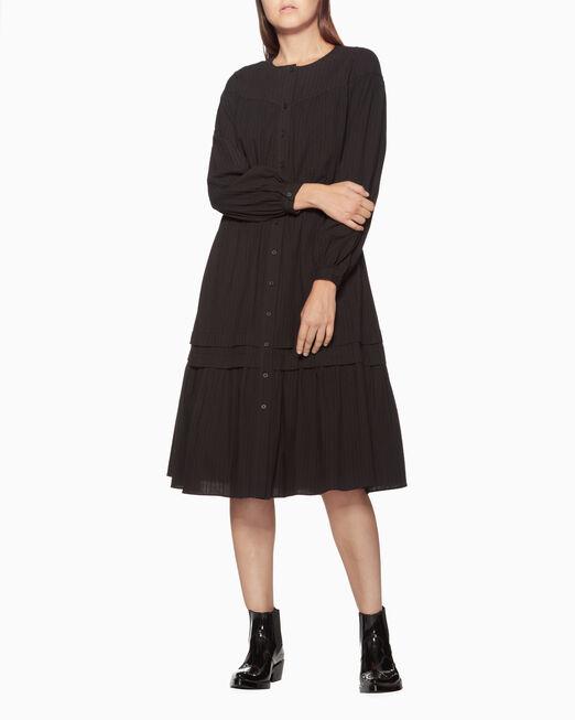 CALVIN KLEIN 긴소매 프레리 드레스