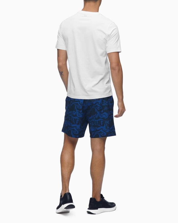 CALVIN KLEIN REFLECTIVE ALL OVER PRINT SHORTS
