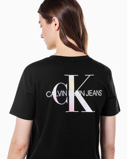 CALVIN KLEIN 여성 소프트 페이드 모노그램 티셔츠