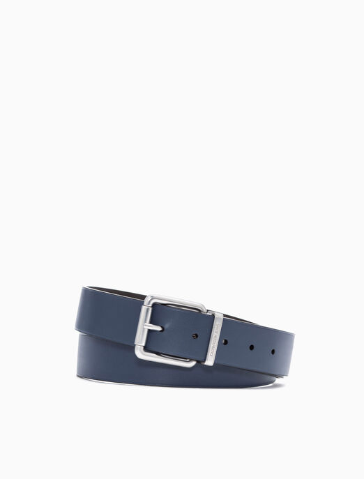 CALVIN KLEIN REVERSIBLE ROLLER BUCKLE BELT 35MM