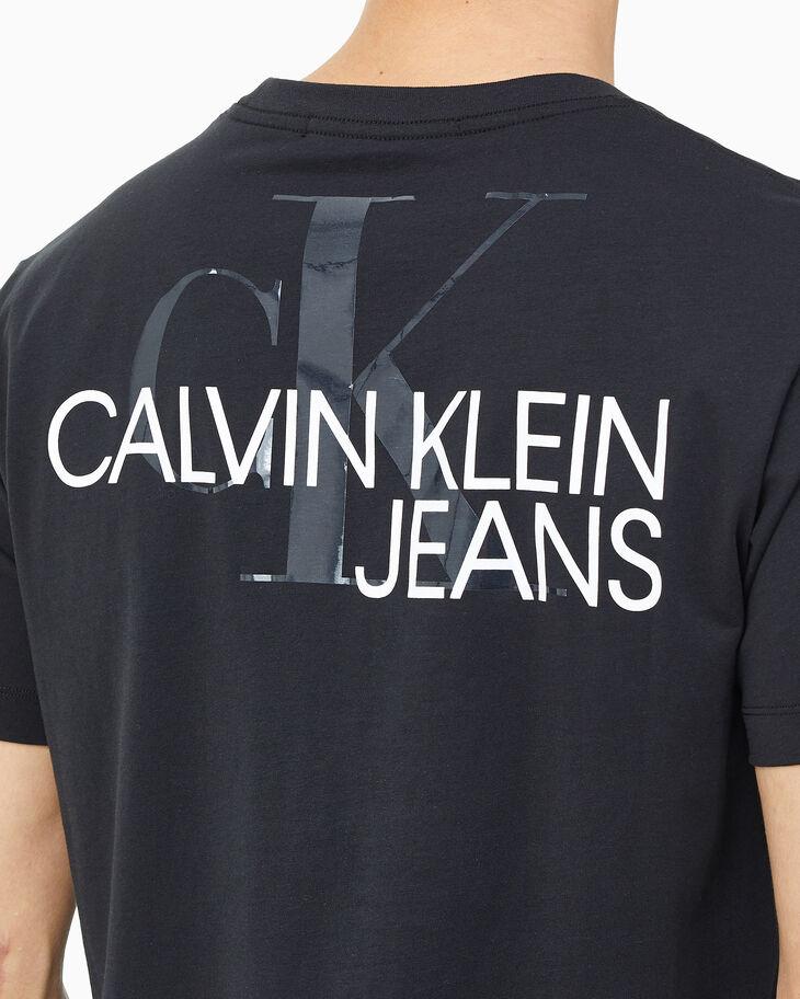 CALVIN KLEIN MONOGRAM CLEAR PRINT TEE