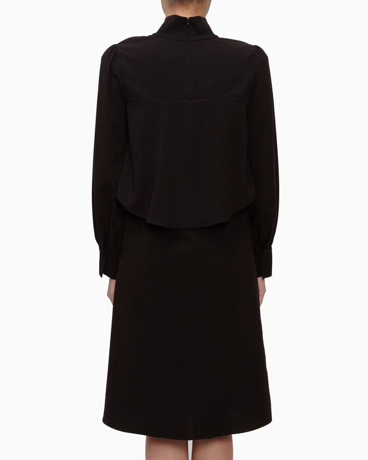 CALVIN KLEIN SOFT STRETCH CREPE DRESS
