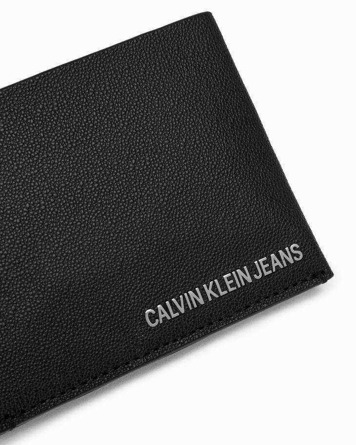 CALVIN KLEIN AIDEN GRAINED BILLFOLD WALLET WITH COIN CASE