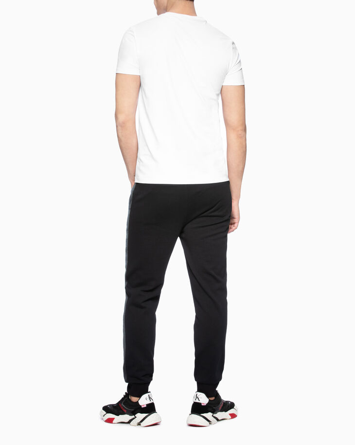 CALVIN KLEIN STRIPE TAPE SWEATPANTS