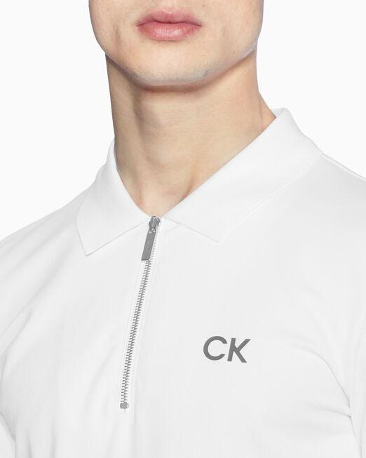 CALVIN KLEIN 코튼 피케 폴로 셔츠