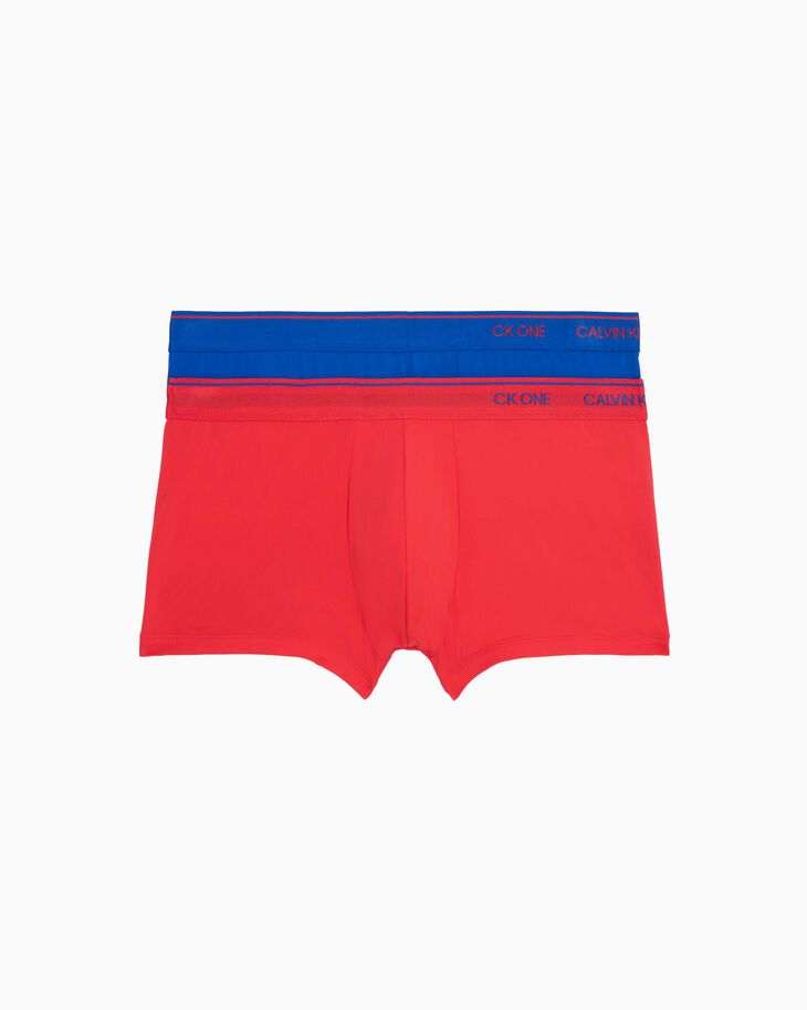 CALVIN KLEIN CK ONE MICRO LOW RISE TRUNK 2 PACK