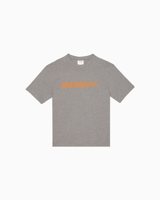 CALVIN KLEIN EST. 1978 자수 크루넥 티셔츠