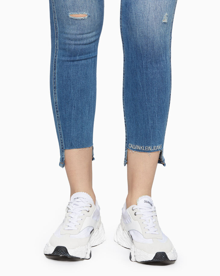 CALVIN KLEIN SCULPTED CKJ 022 CUT OUT JEANS