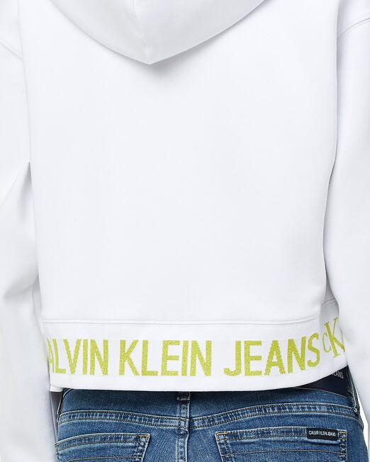 CALVIN KLEIN 여성 패션핏 후드 집업