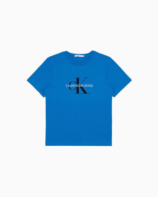 CALVIN KLEIN 유니섹스 MONOGRAM LOGO 티셔츠