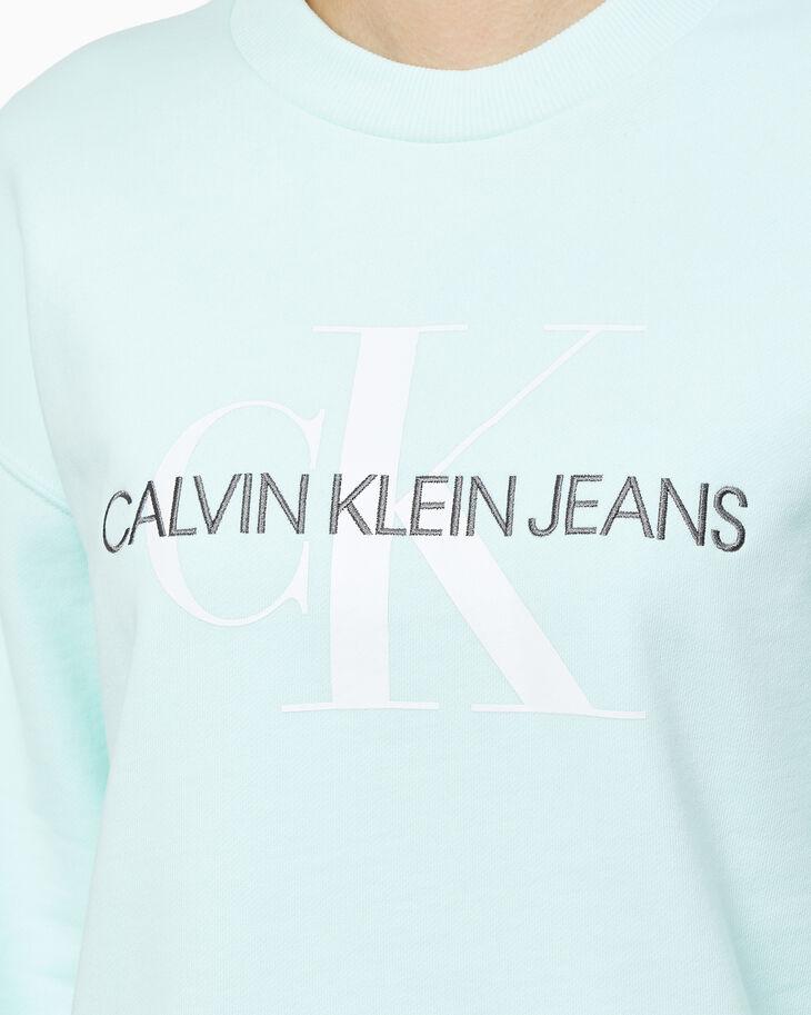 CALVIN KLEIN ORGANIC COTTON MONOGRAM 運動上衣