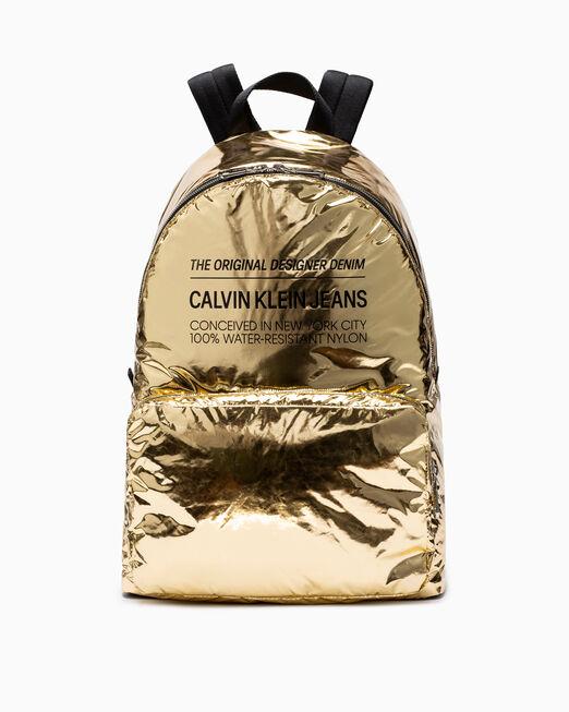 CALVIN KLEIN SPACE FOIL 캠퍼스 백팩 45