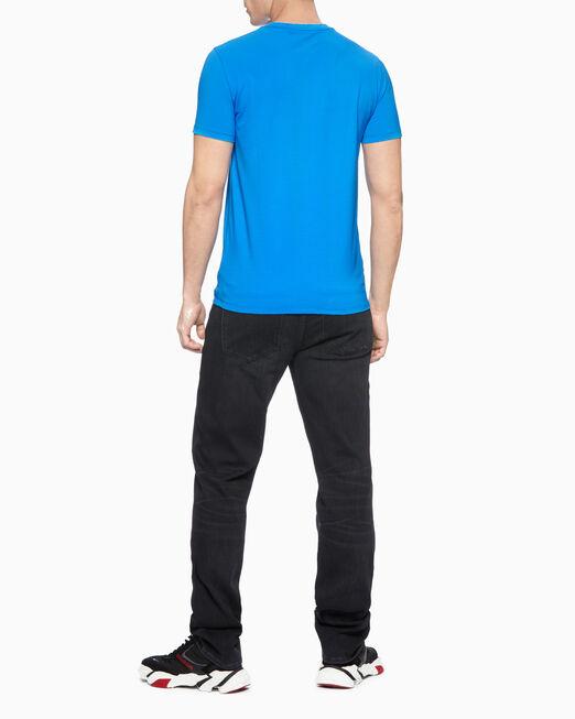CALVIN KLEIN 남성 리플렉티브 모노그램 반팔 티셔츠