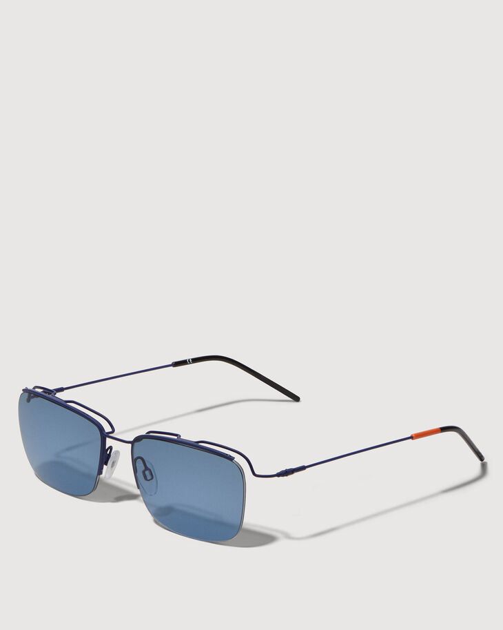 CALVIN KLEIN FLOATING LENS METAL SUNGLASSES