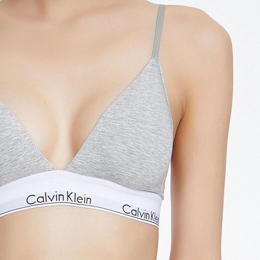 CALVIN KLEIN 여성 모던 코튼 트라이앵글 브라