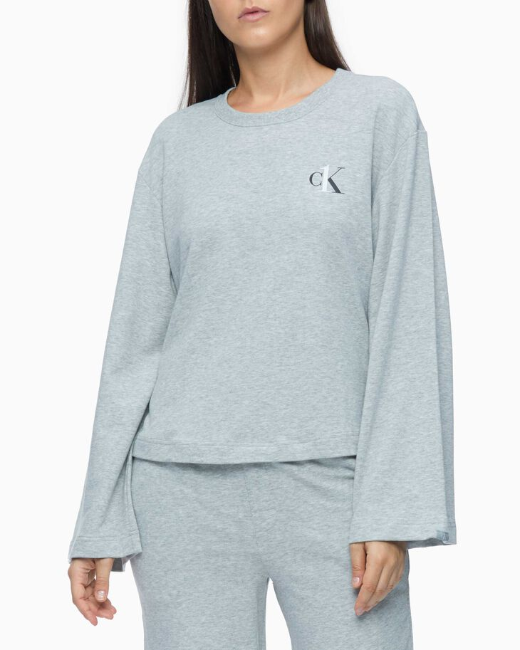 CALVIN KLEIN CK ONE BASIC LOUNGE LONG SLEEVE TEE