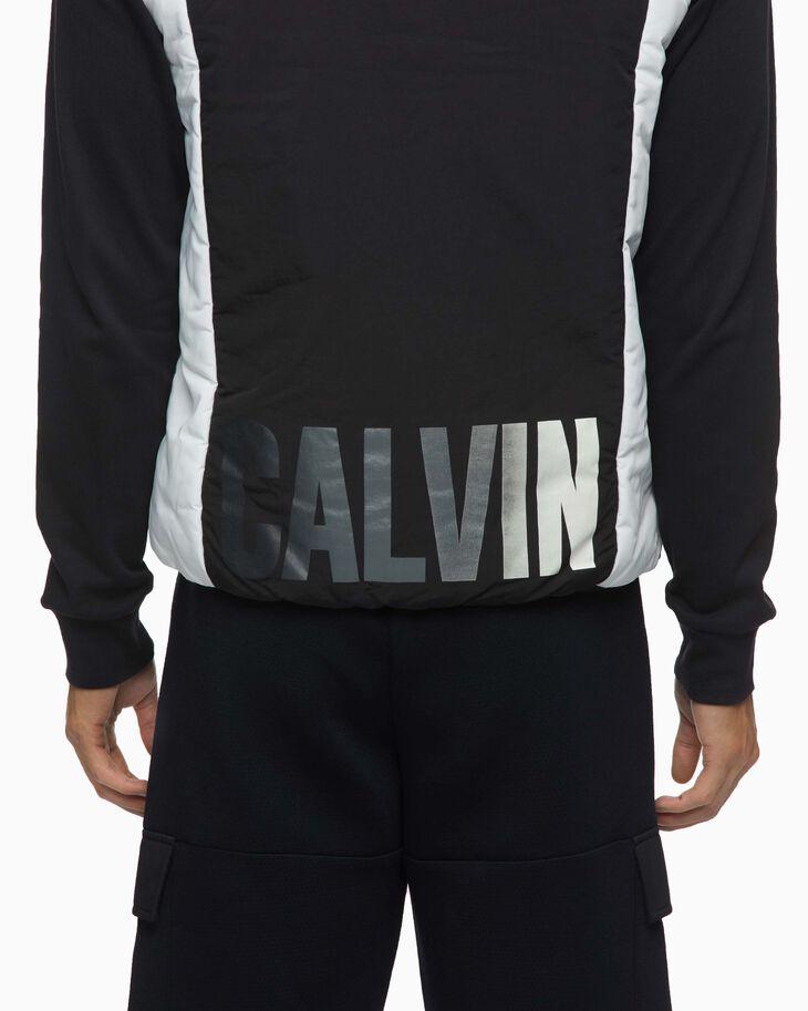 CALVIN KLEIN GRADIENT MOTION COLOR BLOCK 鋪棉背心
