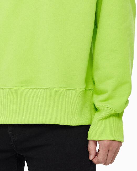 CALVIN KLEIN 남녀공용 크루넥 풀오버 스웨트셔츠