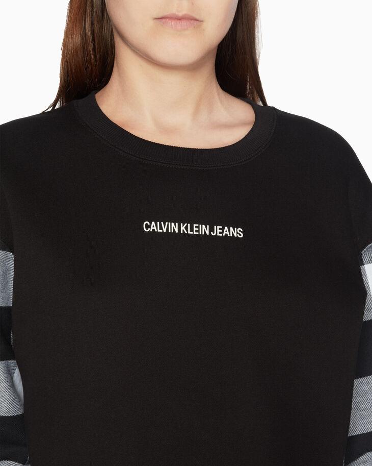 CALVIN KLEIN BUFFALO 格紋運動上衣