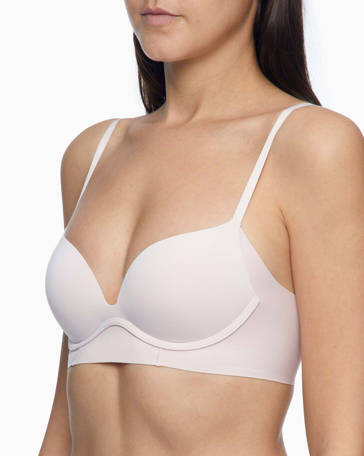 CALVIN KLEIN INVISIBLES PUSH UP PLUNGE BRA