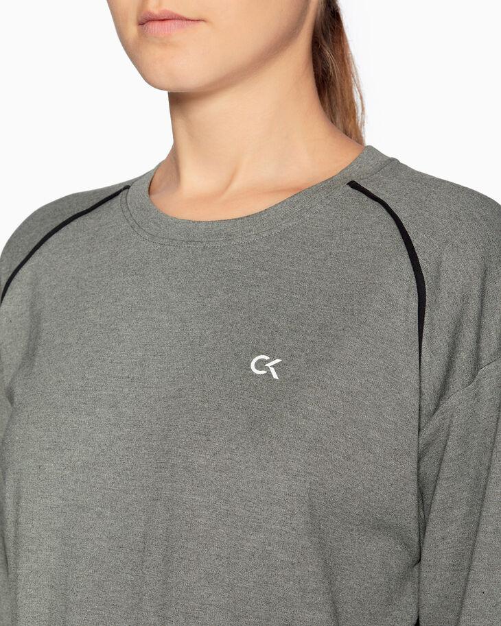 CALVIN KLEIN ACTIVE ICON LOGO クロップドスウェットシャツ
