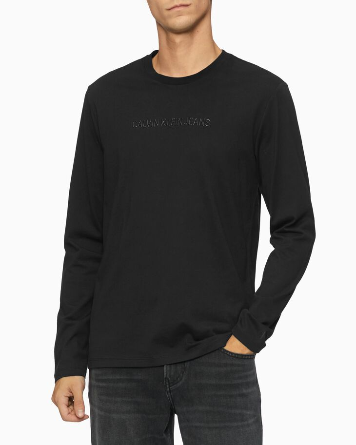 CALVIN KLEIN INSTITUTIONAL TONAL LOGO TEE