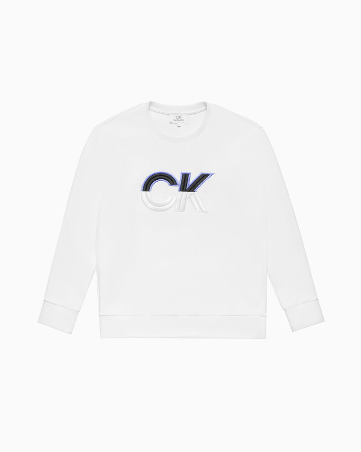 CALVIN KLEIN EMBROIDERED LOGO 運動上衣