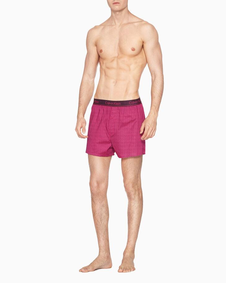 CALVIN KLEIN 平織四角褲(經典版型)