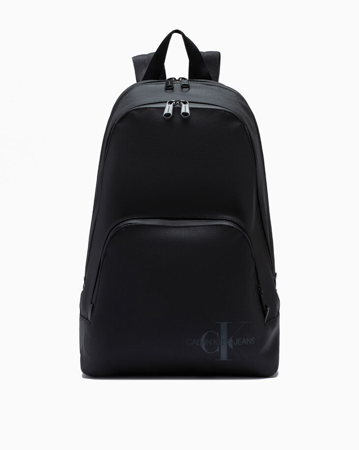 CALVIN KLEIN COATED COTTON TRIPLE COMPARTMENT BACKPACK